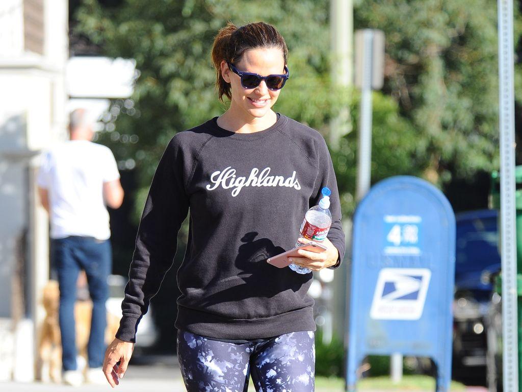 Jennifer Garner auf dem Weg ins Fitness-Studio in L.A.