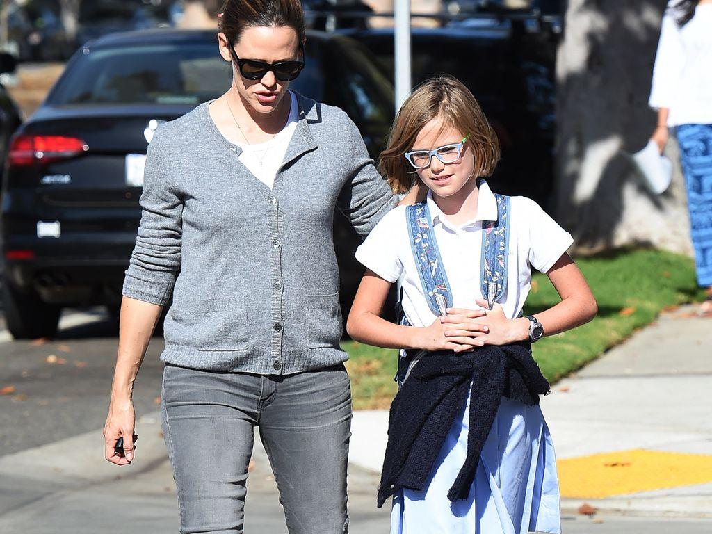 Jennifer Garner mit ihrer Tochter Violet