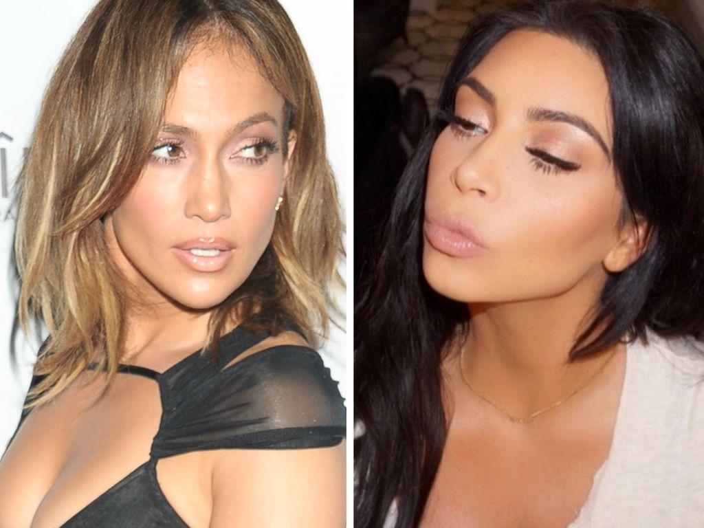 Kim Kardashian und Jennifer Lopez