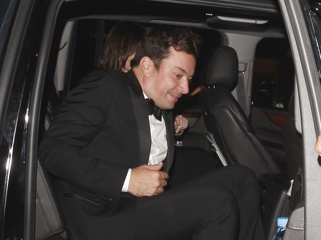 Jimmy Fallon im Auto in LA