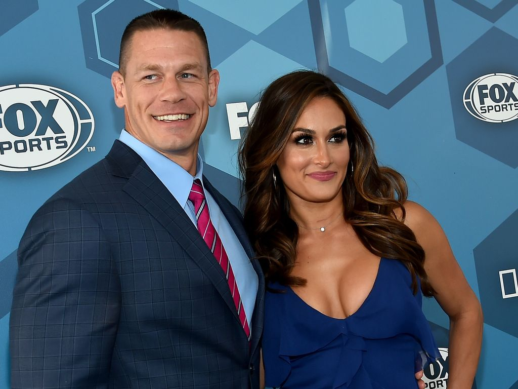 John Cena und Nikki Bella, WWE-Superstars