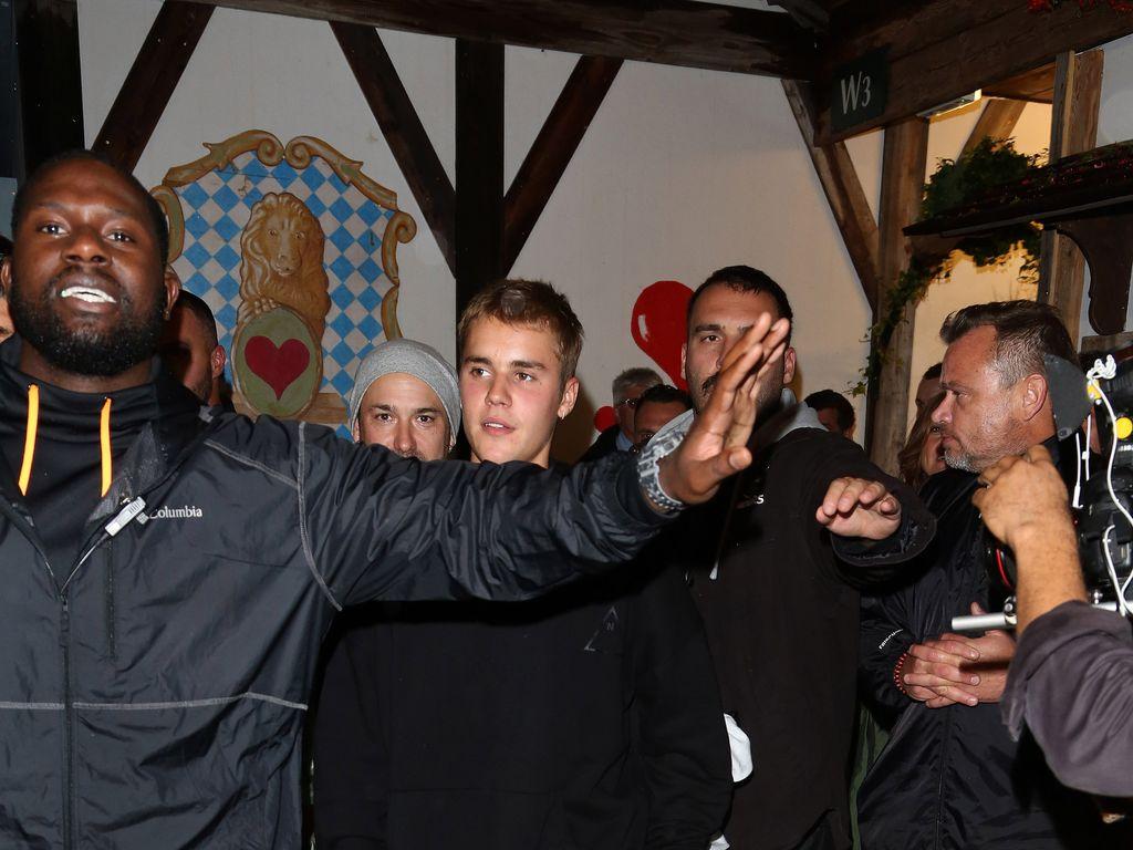 Justin Bieber auf dem Oktoberfest