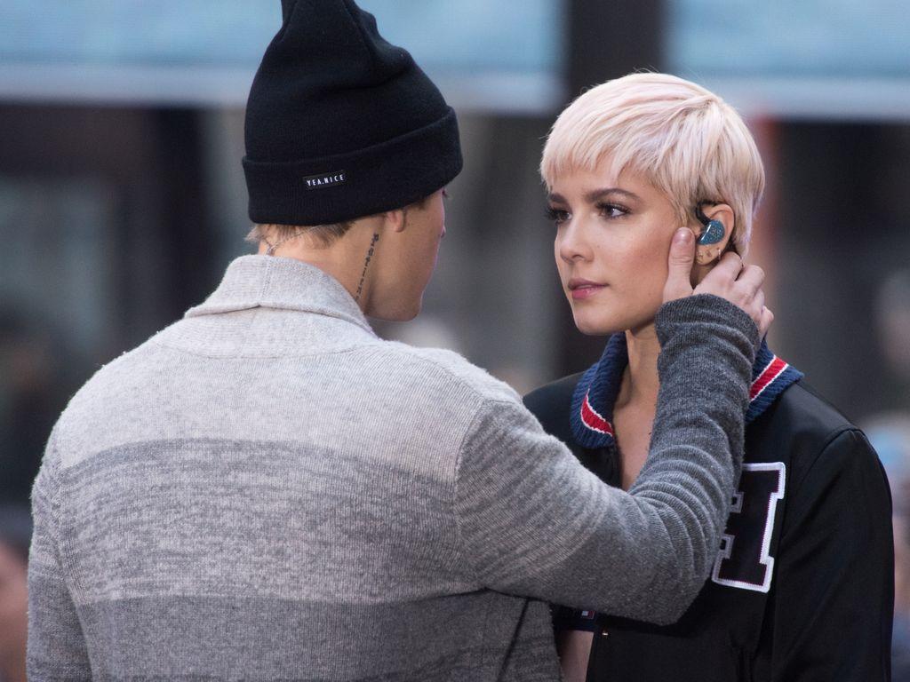 Justin Bieber und Halsey