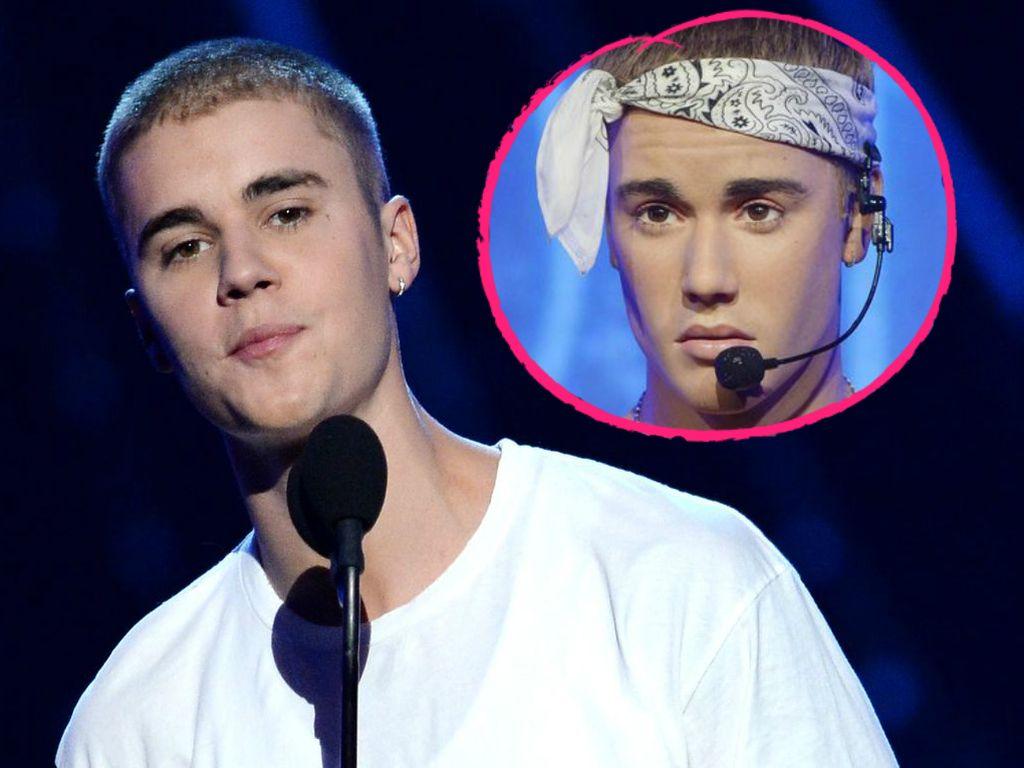 Justin und seine Wachsfigur