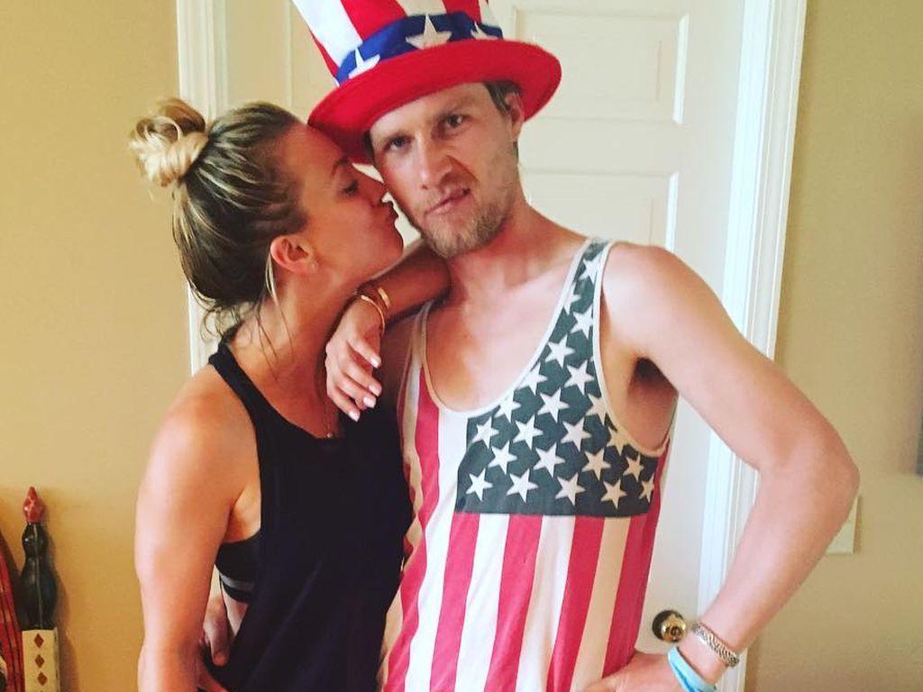 Kaley Cuoco am US-Unabhängigkeitstag