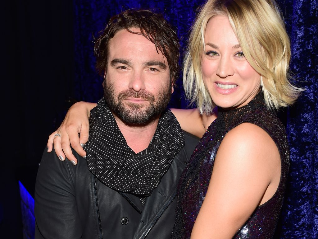 Johnny Galecki und Kaley Cuoco