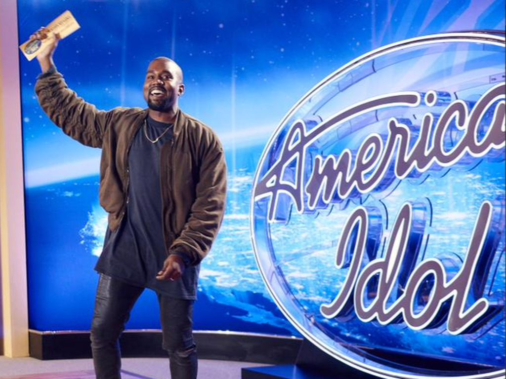 "Kanye West bei ""American Idol"""