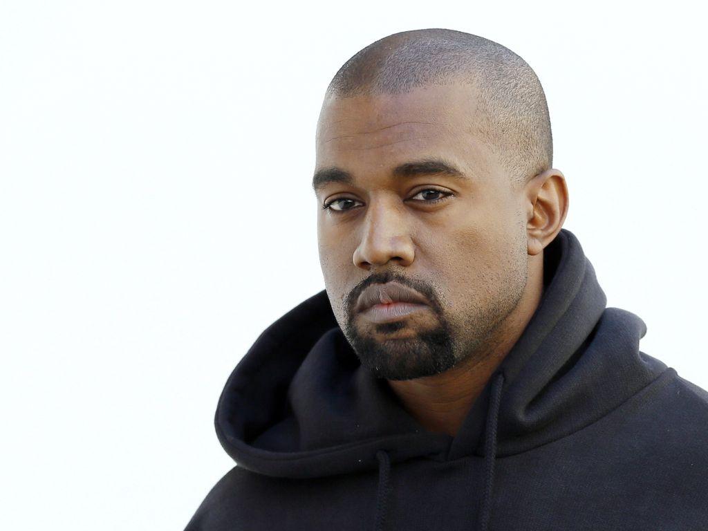 Kanye West bei der Paris Fashion Week