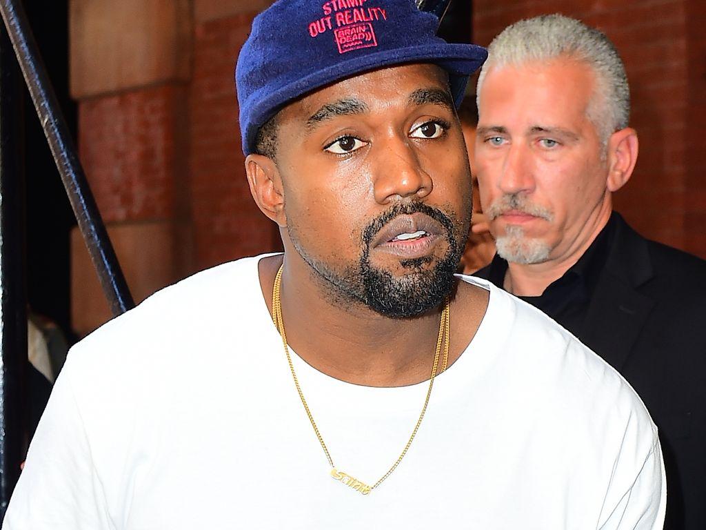 Kanye West vor dem Mercer Hotel
