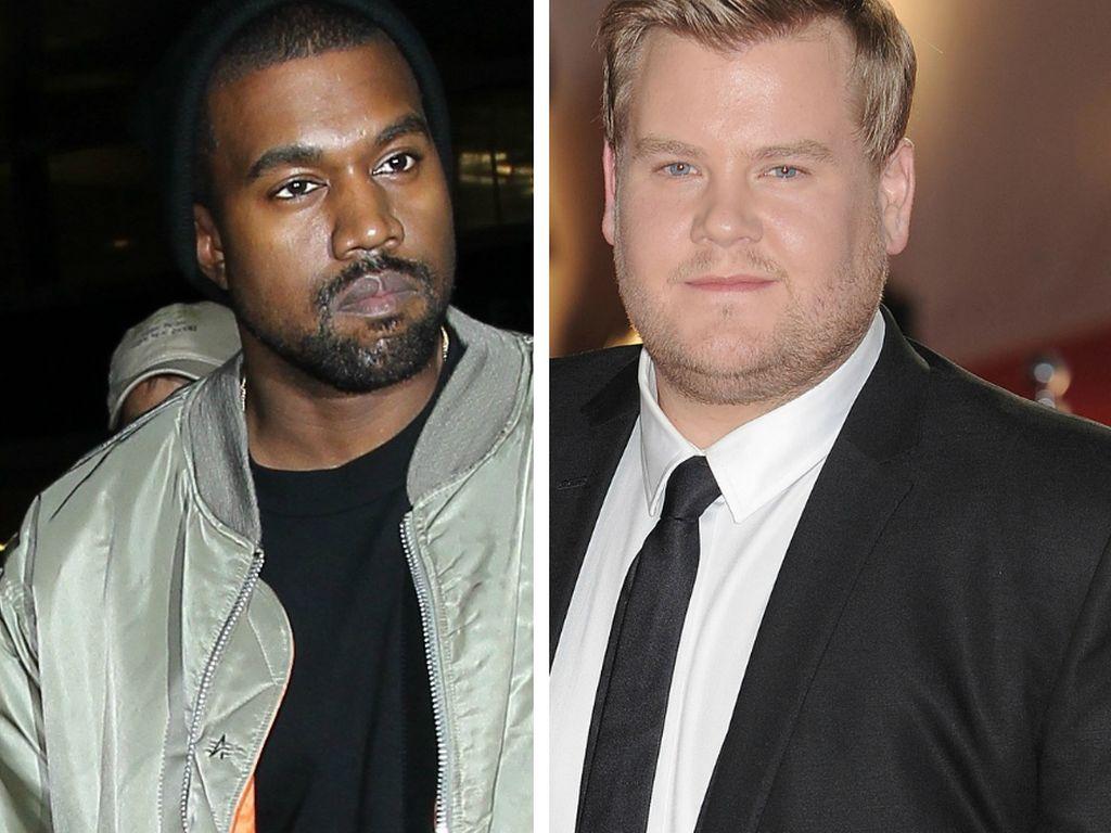 Kanye West und James Corden