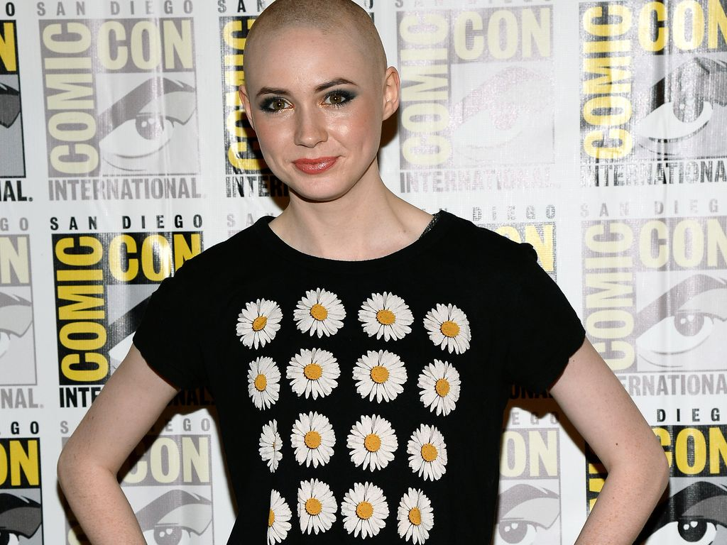 Karen Gillan auf der internationalen Comic Con 2013