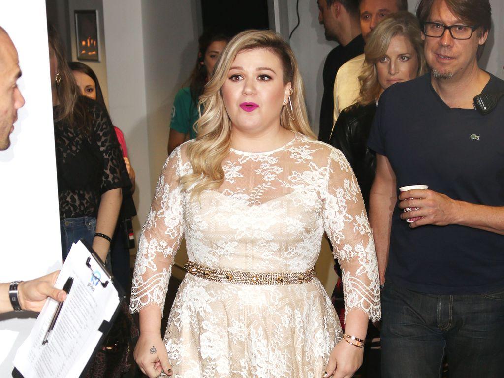 Sängerin Kelly Clarkson in London