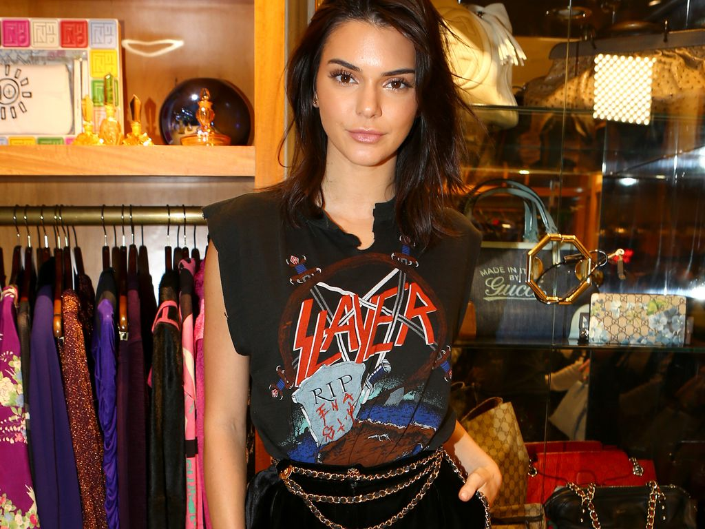 Kendall Jenner bei einem Store-Opening in Beverly Hills
