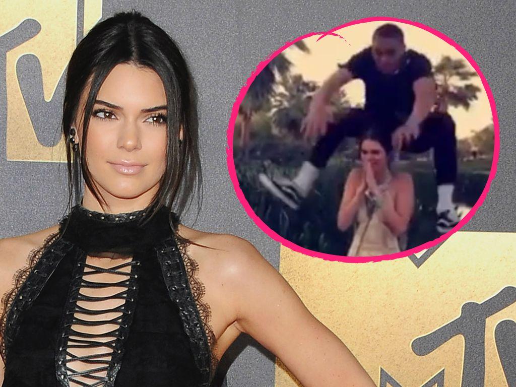 Kendall Jenner und Jordan Clarkson