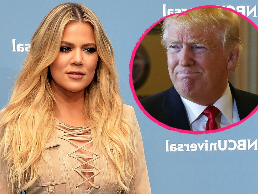 Khloe Kardashian und Donald Trump