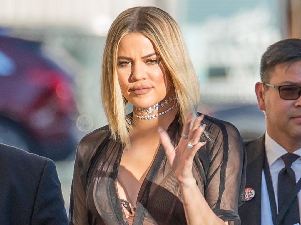 """Khloe Kardashian im November 2016 auf dem Weg zu """"Jimmy Kimmel Live"""" in Los Angeles"""
