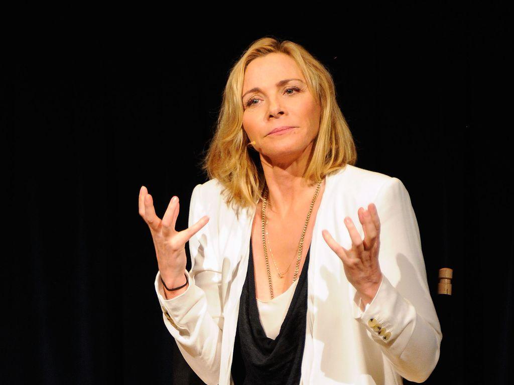 Kim Cattrall beim NYIT Auditorium in New York
