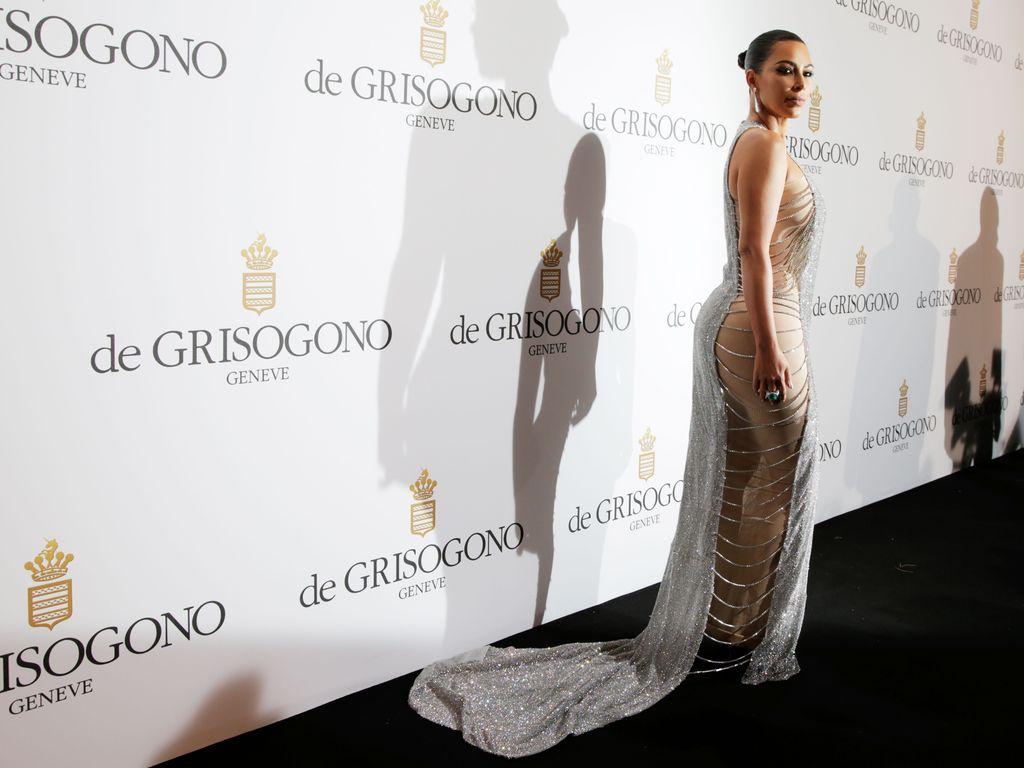 Kim Kardashian beim Film Festival in Cannes