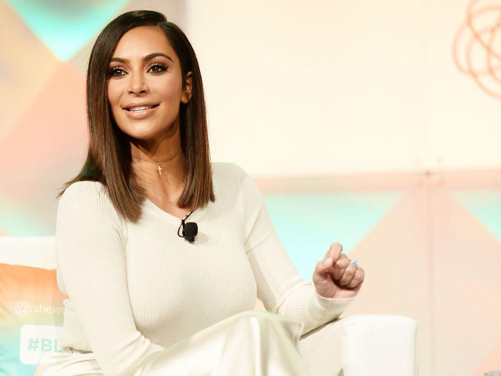 Kim Kardashian bei der #BlogHer Konferenz in Los Angeles