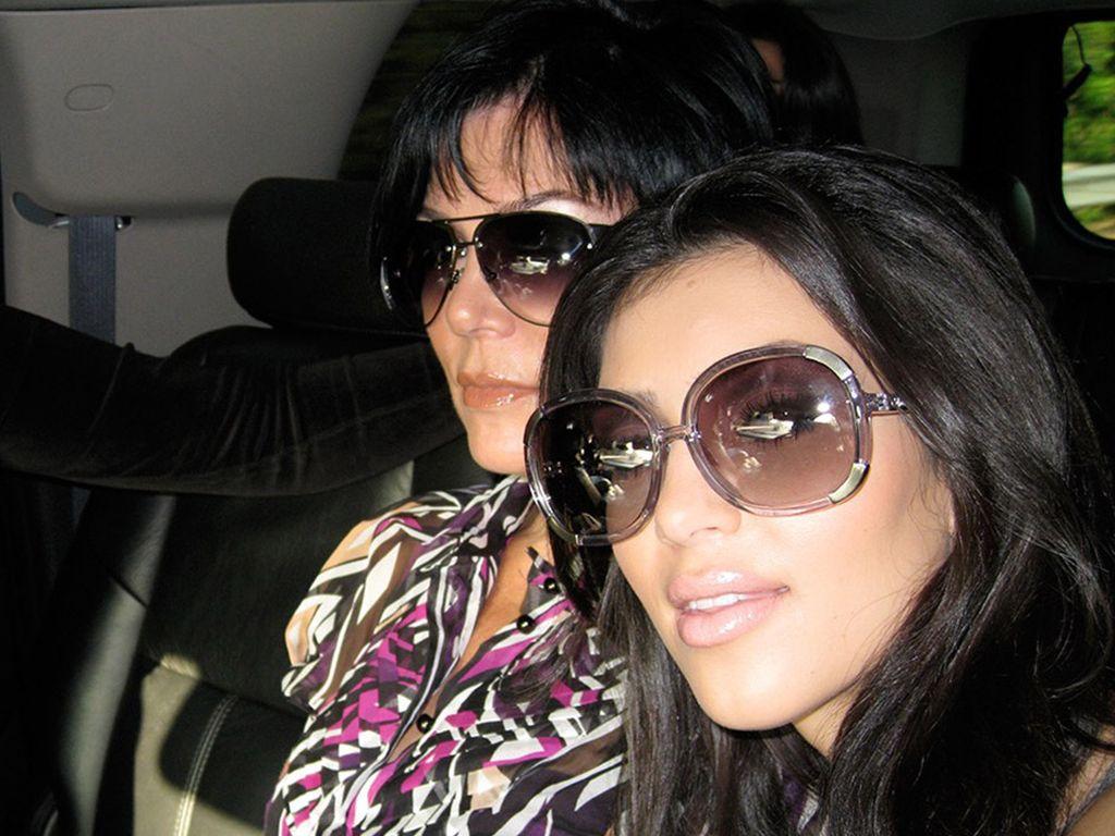 Khloe Kardashian, Kim Kardashian und Kris Jenner