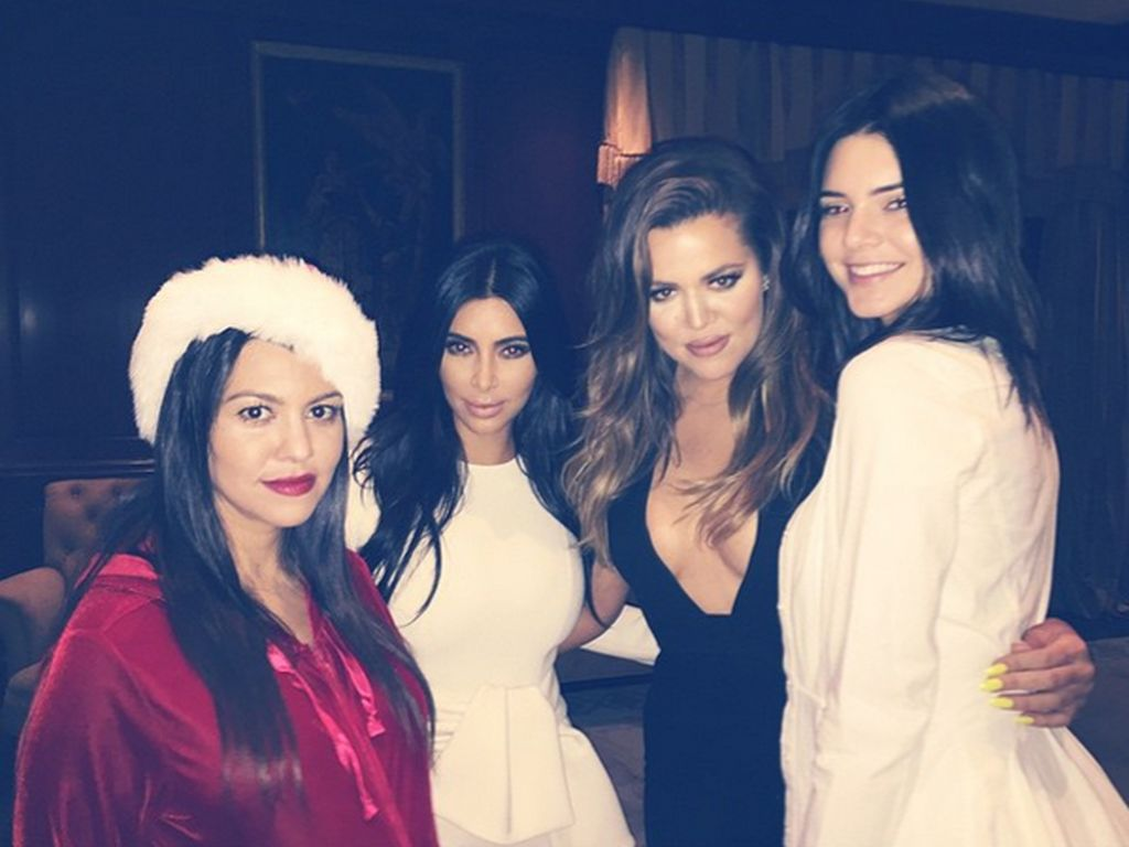 Khloe Kardashian, Kim Kardashian, Kendall Jenner und Kourtney Kardashian