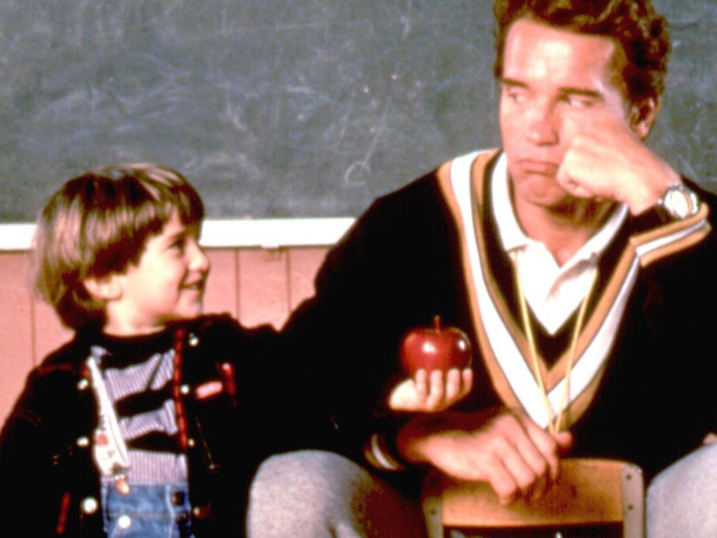 Kindergarten Cop, Miko Hughes und Arnold Schwarzenegger