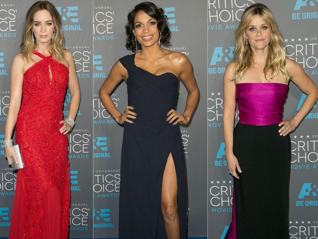Emily Blunt, Reese Witherspoon und Rosario Dawson