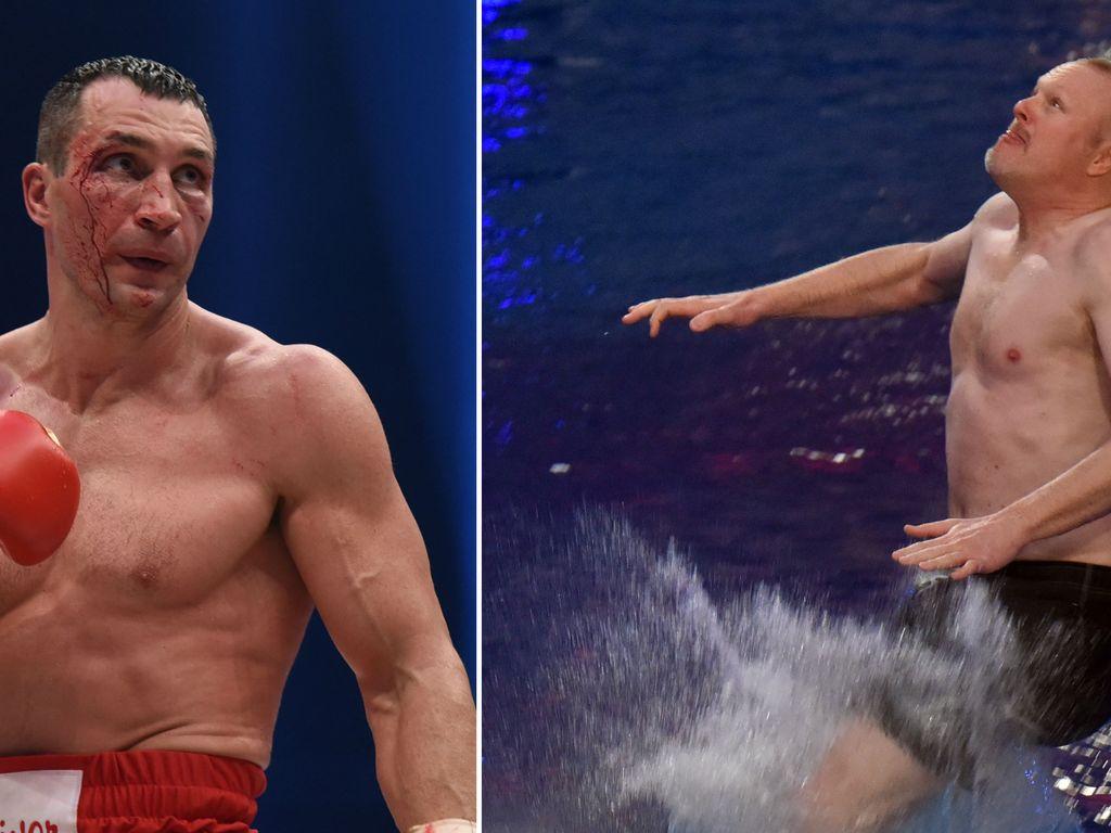 Wladimir Klitschko und Stefan Raab