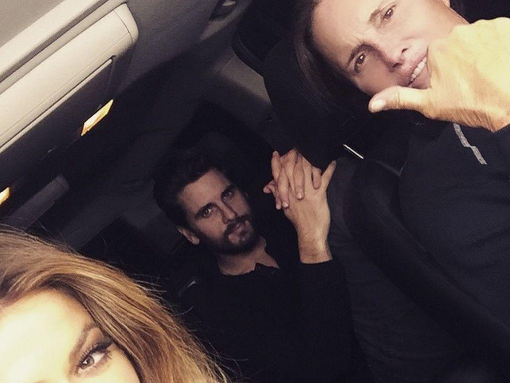 Khloe Kardashian, Scott Disick und Bruce Jenner