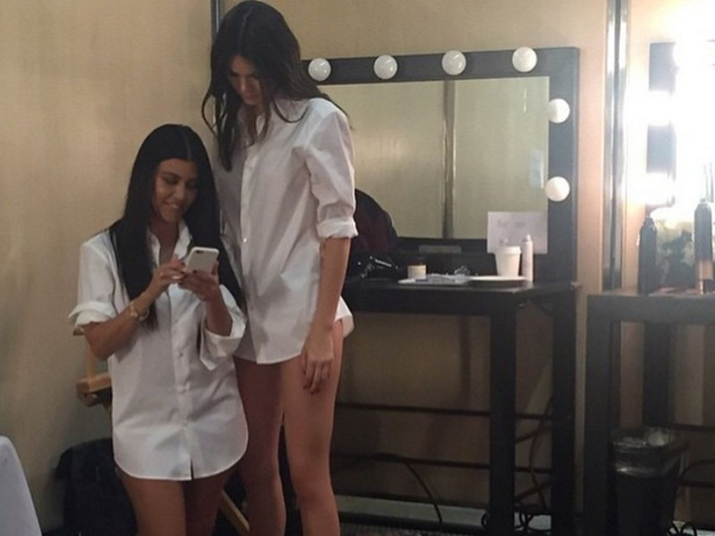 Kylie Jenner und Kourtney Kardashian