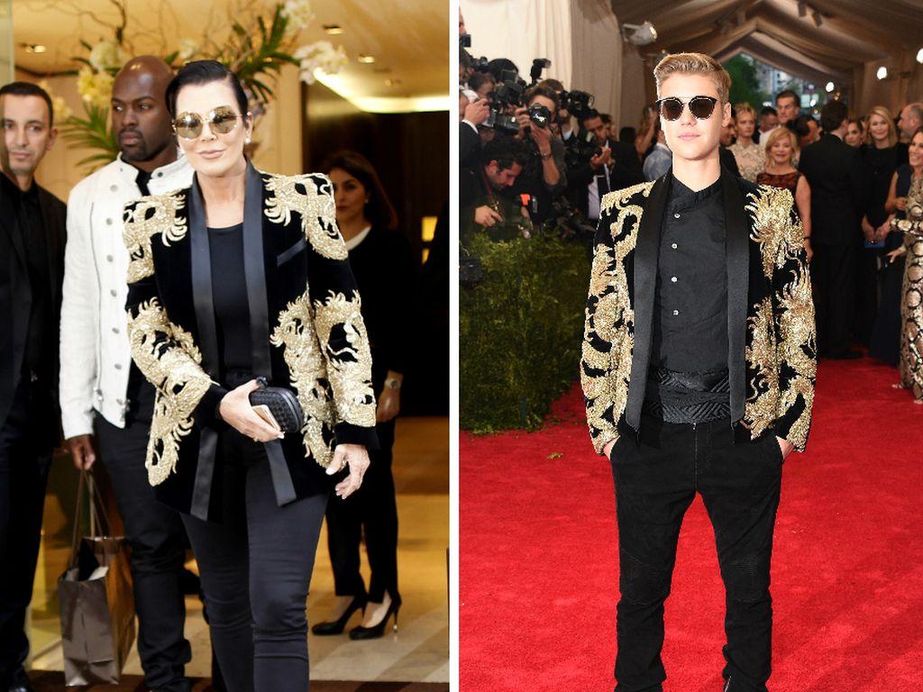 Justin Bieber und Kris Jenner