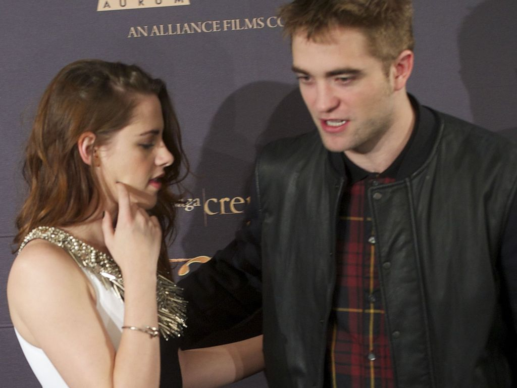 Kristen Stewart und Robert Pattinson in Spanien