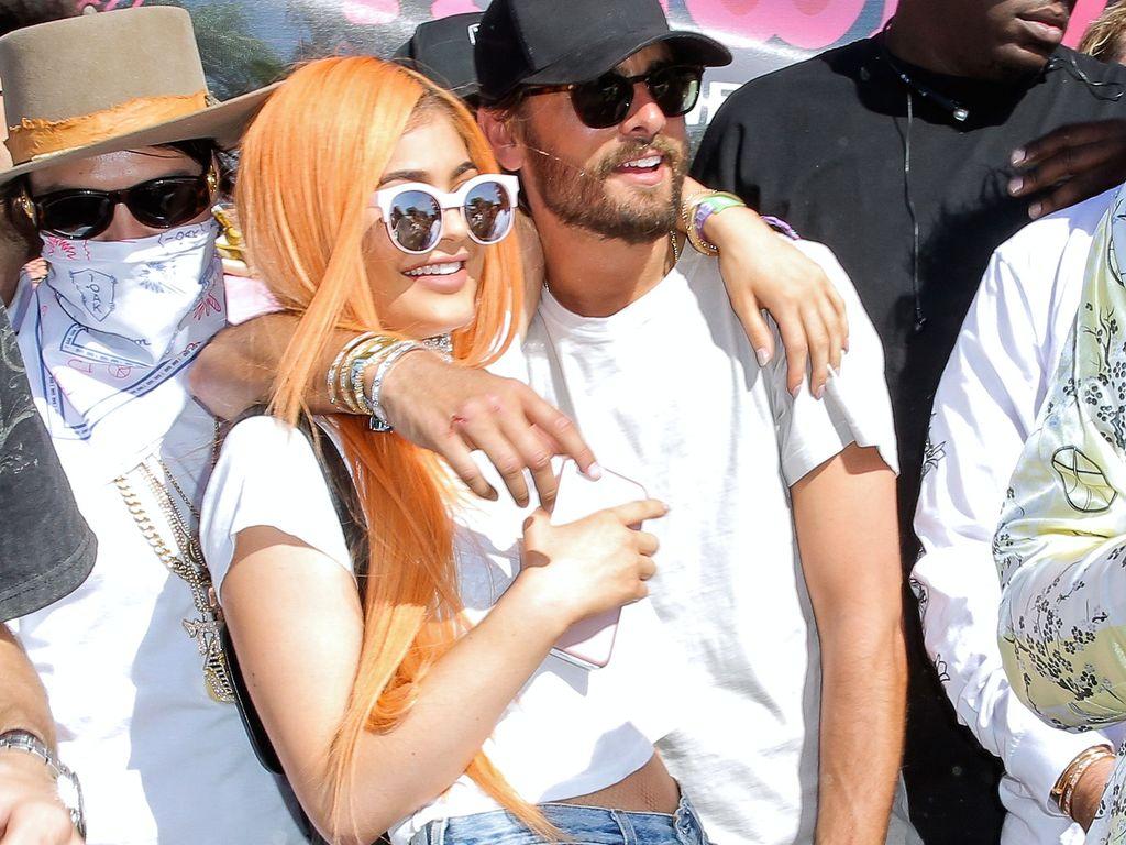 Kylie Jenner und Scott Disick
