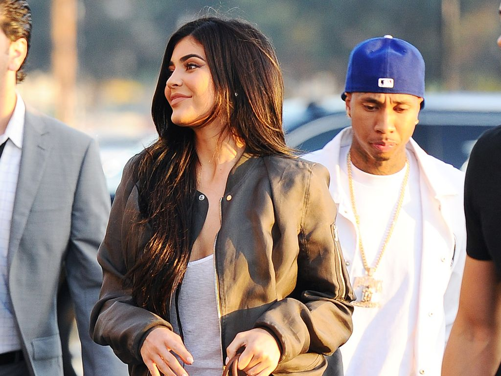 """Kylie Jenner und Tyga bei Kanye Wests """"Famous""""-Party"""