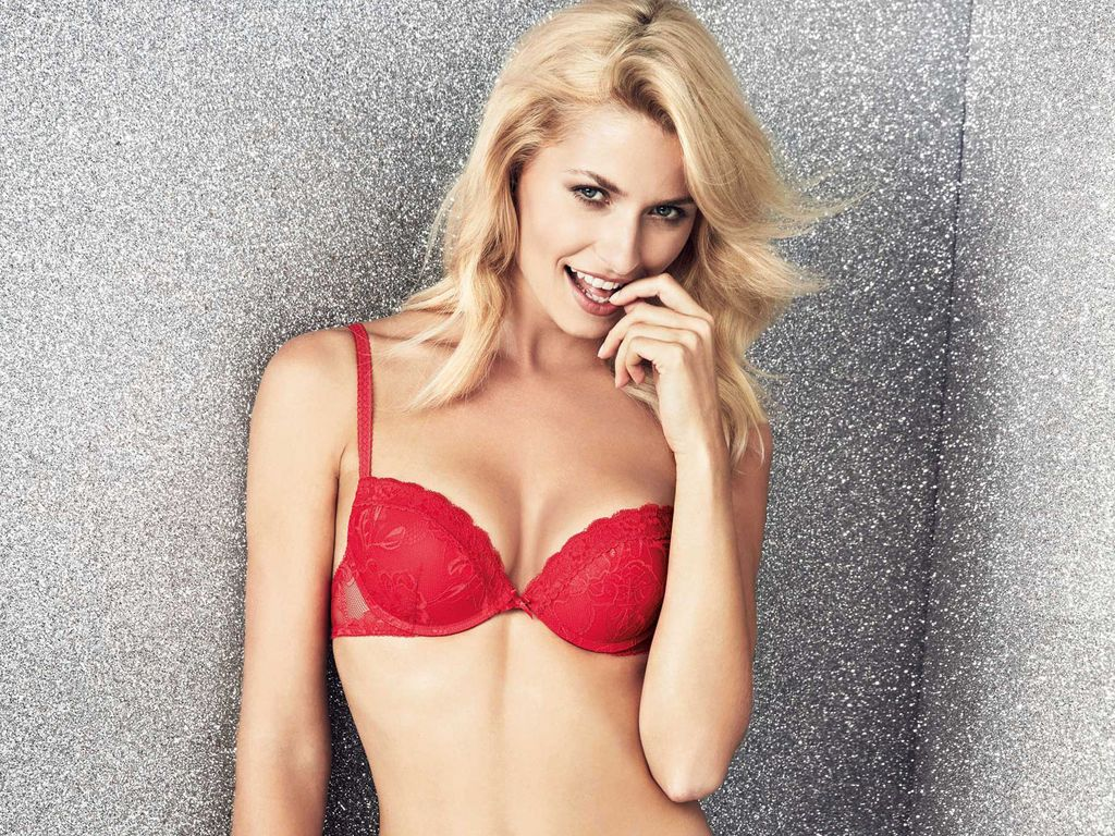 Lena Gercke in Yamamay-Dessous
