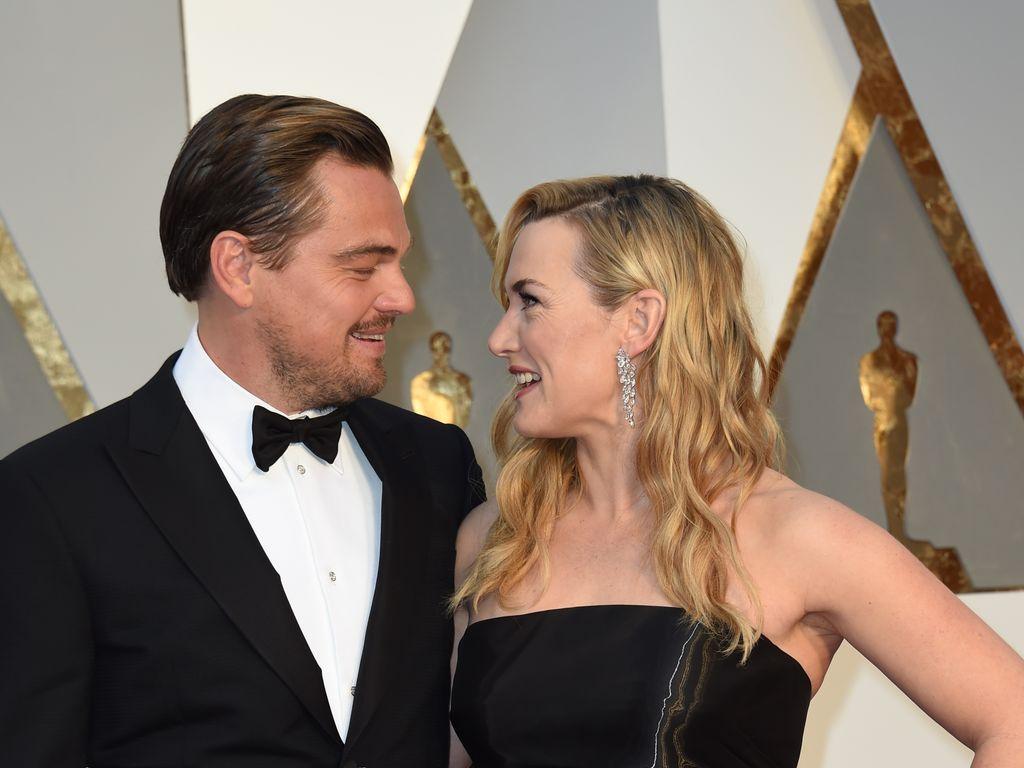 Leonardo DiCaprio und Kate Winslet