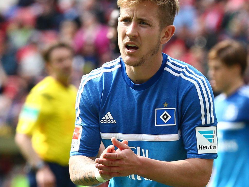 Lewis Holtby beim Spiel zwischen des 1. FSV Mainz 05 gegen den Hamburger SV