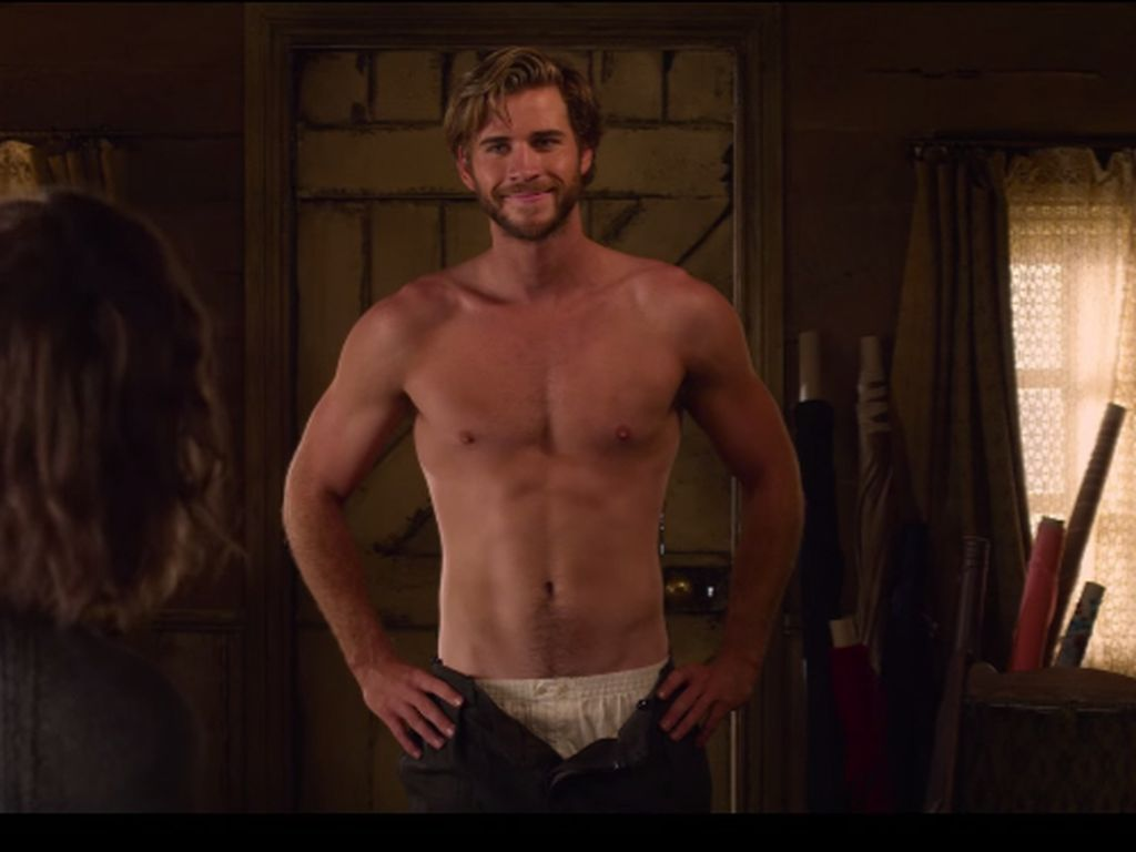 "Liam Hemsworth in ""The Dressmaker"""