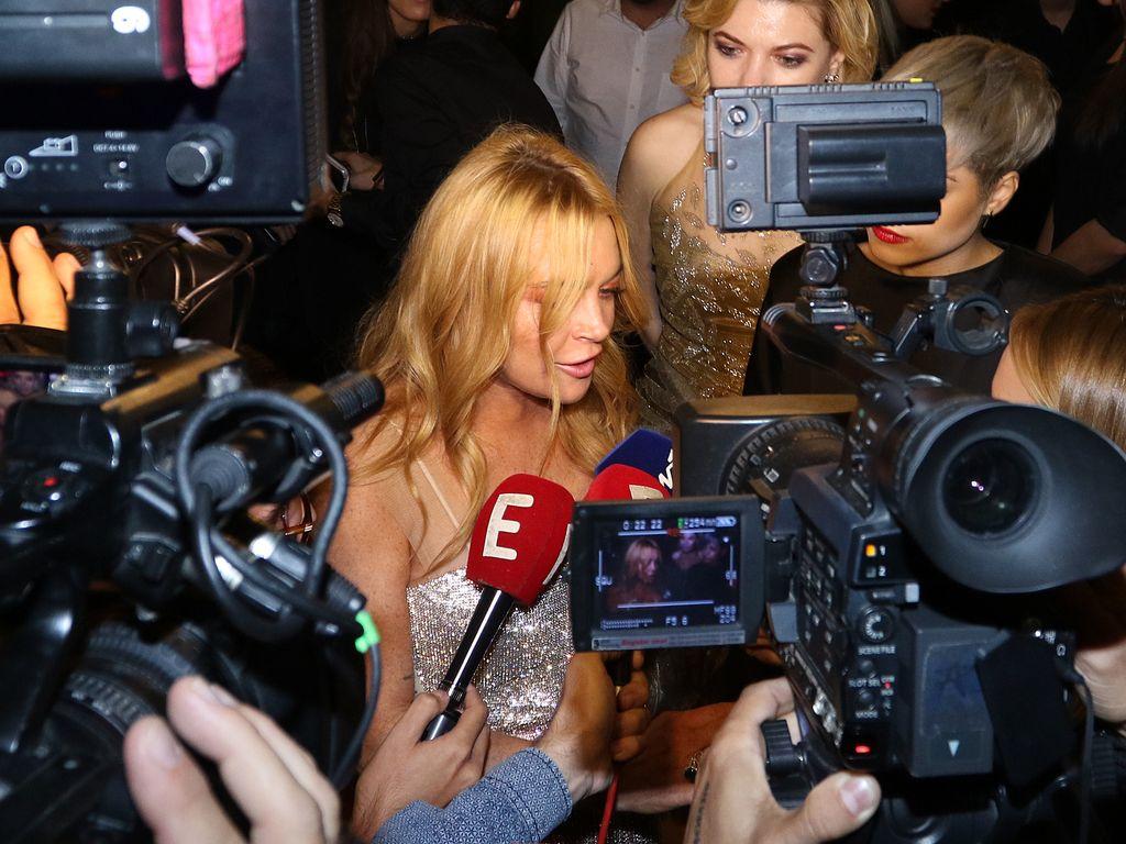 Lindsay Lohan eröffnet ihren Nachtclub in Athen