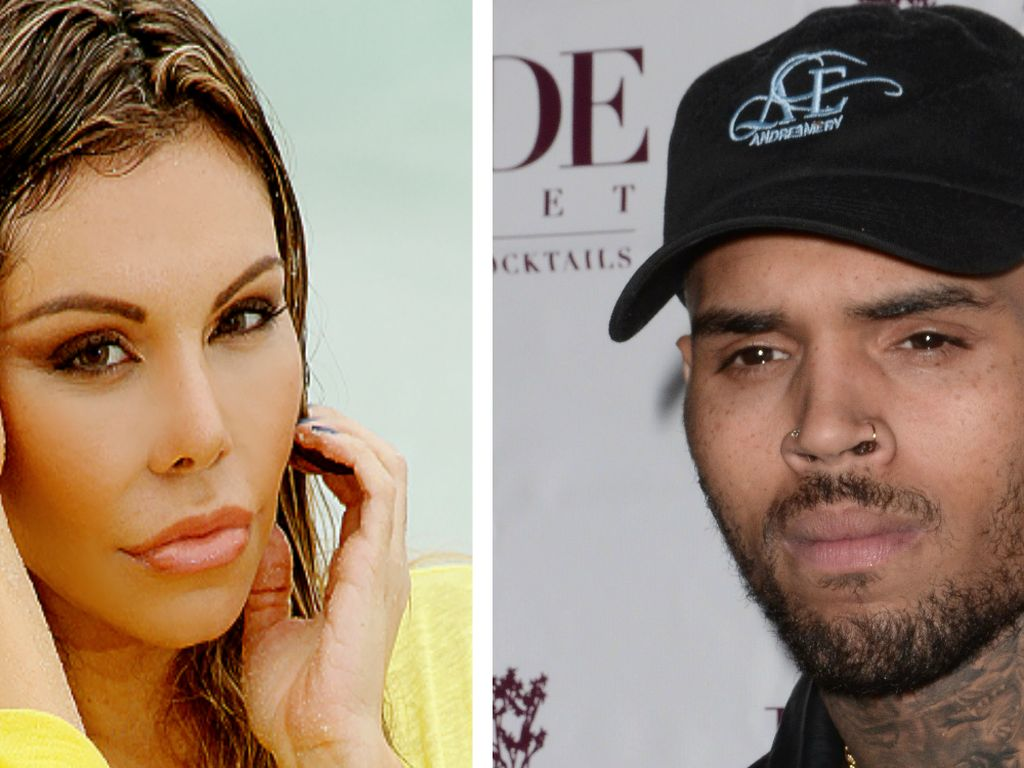 Chris Brown und Liziane Gutierrez