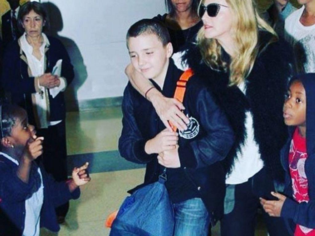 Madonna und Rocco Ritchie