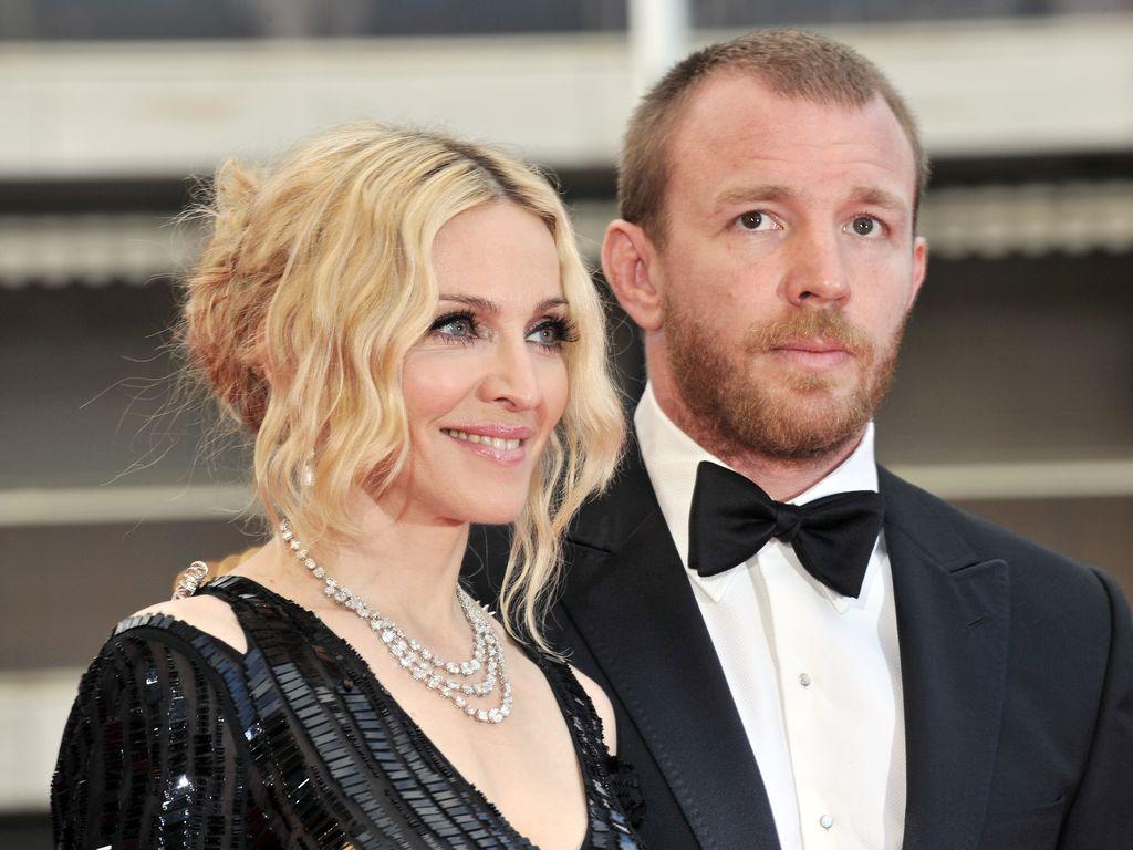 Madonna und Guy Ritchie im Jahr 2008 in Cannes