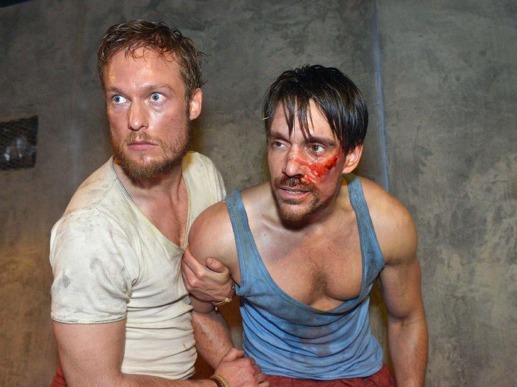 Marc Bluhm und Philipp Christopher bei GZSZ
