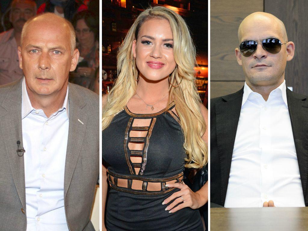 Mario Basler, Jessica Paszka und Ben Tewaag