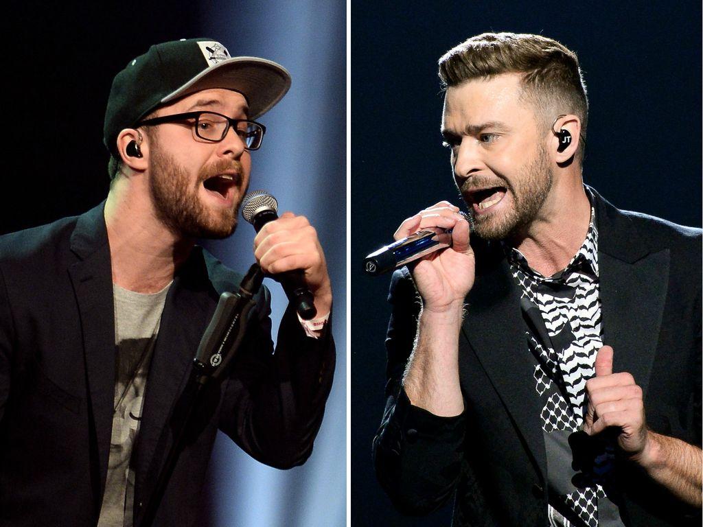Mark Forster und Justin Timberlake