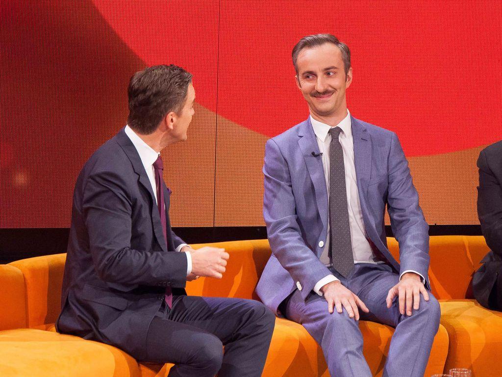 Markus Lanz, Jan Böhmermann und Martin Schulz im ZDF