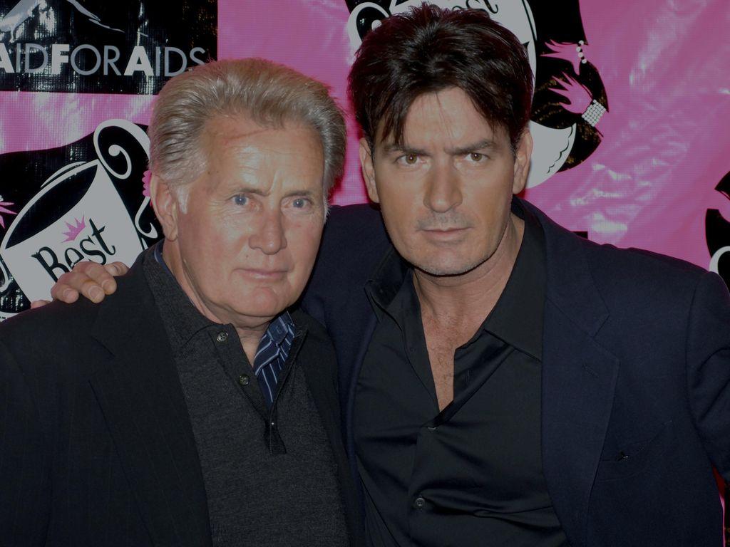 Charlie Sheen und Martin Sheen