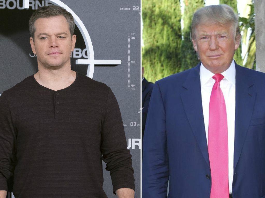 Matt Damon und Donald Trump