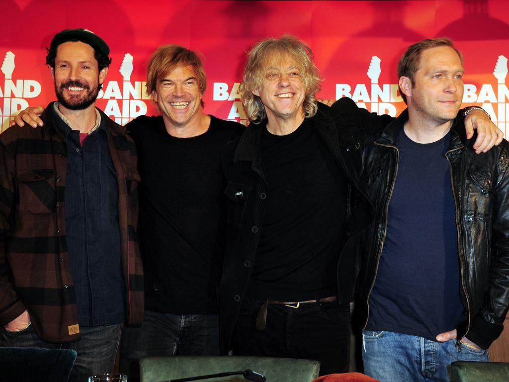 Bob Geldof, Max Herre und Campino