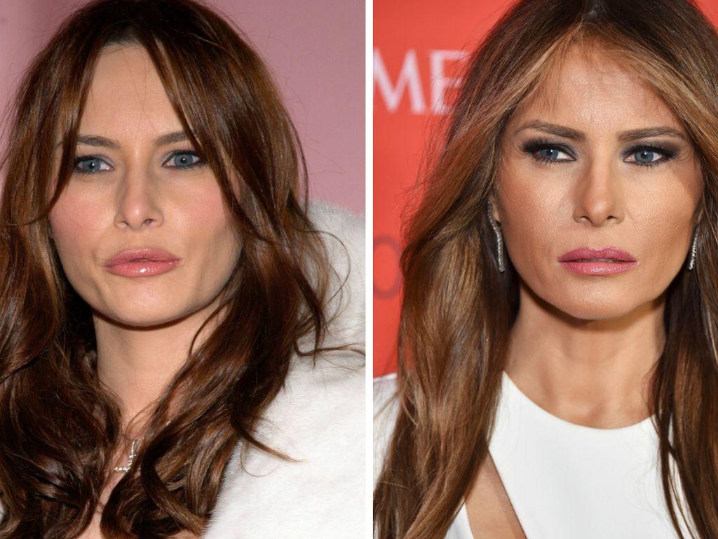 Melania Trump, 2002 und 2016